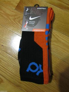 Kevin Durant Elite Socks Basketball Crew Galaxy KD V Thunder OKC Sz L