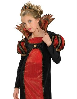 Red Vamptessa Vampire Evil Princess Kids Halloween Costume s L