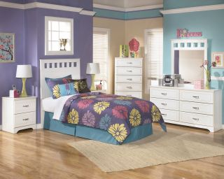 Bedroom on Ashley Furniture Lulu Kids Youth Bedroom Set B102 21 26 51 52 92