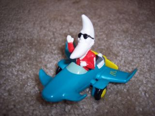 Mac The Night 1988 McDonald Toy Airplane Kids Meal
