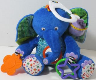 Kids Preferred WORLD OF ERIC CARLE ELEPHANT RATTLE Baby Development