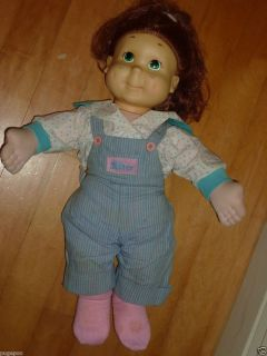 My Buddy Kid Sister Doll Original Clothes 1980s Brunette Hair Blue