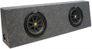 Kicker Comp 10 C10 Sub Loaded Truck Subwoofer Box New