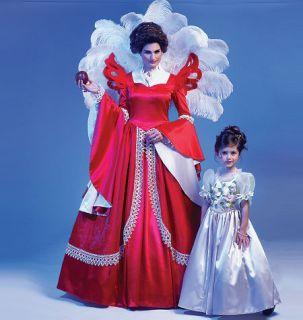 Pattern M6629 Snow White Evil Queen Princess Costumes Kids 3 8