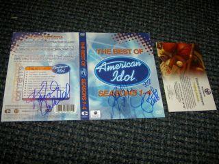 Kelly Clarkson Paula Abdul Kimberly Caldwell Auto DVD
