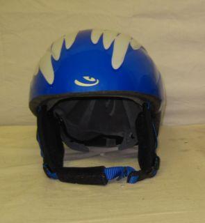 Giro Kids Youth Junior Blue Ski Snowboard Helmet Size Small 49 54 Cm