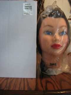Burmax Sam II Mannequin Head Protein Fiber Hair