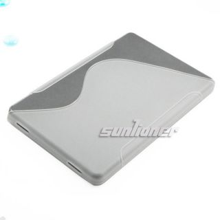 Clear White Color TPU Silicone Case Skin Cover for  Kindle Fire