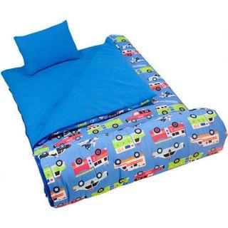 Wildkin Sleeping Bag Olive Kids Heroes