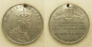 Medals Great Britain 1937 Coronation King Edward VIII