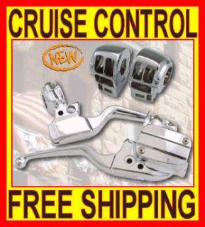 New Chrome Road King Classic Hand Control Kit Controls