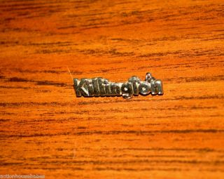 Ski Pin Badge Skiing Killington Vermont