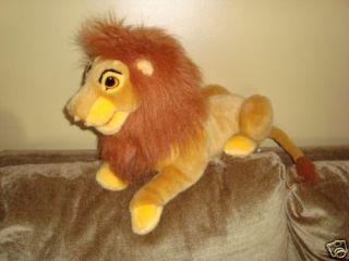 Lion King Puppet Large Plush Simba Disney Exclusive
