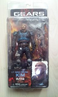 RARE NECA Gears of War Lt Minh Young Kim Exclusive 7 Action Figure