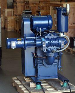 Kinney Tuthill KTC 112 w/ KMBD 400 Vacuum Piston Pump Rebuilt, 1 Year