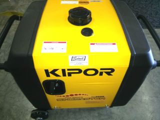Kipor IG3000; 3000 Watt Portable Digital Inverter Generator, CARB