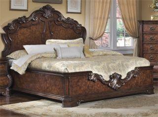 Pulaski Wellington Manor King Size Platform Style Bed