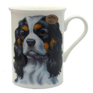 Cavalier King Charles Spaniel Dog Fine Bone China Mug