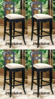 FRENCH COUNTRY KITCHEN STYLE DECOR COUNTER HEIGHT CHAIR BAR STOOL