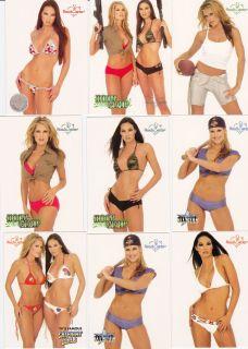 Girls Benchwarmer Cards Tanya Ballinger Kitana Baker Bikini Lot 5