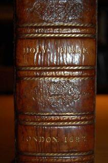 1683 Beautiful Binding King James Bible Apocrypha More