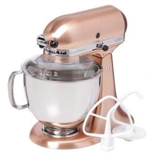 KitchenAid Artisan Metallic Series Satin Copper 5 Quart Stand Mixer