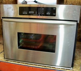 NEW KITCHENAID SUPERBA CONVECTION OVEN STAINLESS STEEL ELECTRIC NEVER