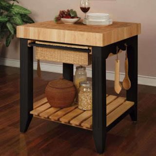KITCHEN ISLAND FRENCH COUNTRY TUSCAN TUSCANY STYLE DECOR BUTCHER BLOCK