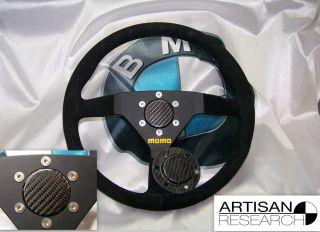 Sparco Momo Steering Wheel Carbon Fiber Horn Block Off Plate