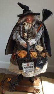Kims Klaus OOAK Handmade Folk Art Witch Vintage Antique Halloween