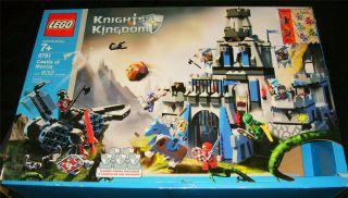 LEGO KNIGHTS KINGDOM PIECES PARTS 8781 Castle Morcia building toy set