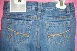 Koala Kids Baby Toddler Girl Jeans Pants Blue Boot Leg 36M 3T