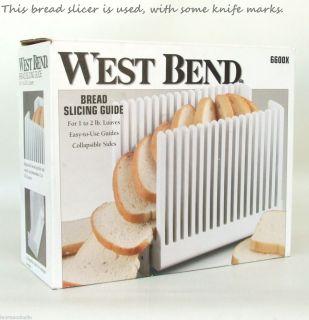 Bend Folding Bread Slicing Guide Slicer Cutting Knife Guide
