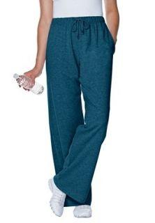 Womens Plus Size Tall Knit Pants 32 Inseam