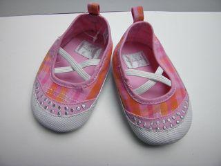 Koala Kids Infant Baby Girls Spring Summer Pink Orange Plaid Crib