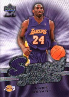 Kobe Bryant 07 08 Sweet Shot Sweet Stitches Lakers Game Used Jersey