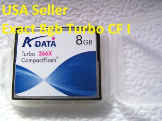 8GB CF Compact Flash CF I Memory Card for Nikon Canon Kodak