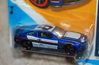 Wheels 2010 Ford Mustang GT Blue Purple Kootenai County Sheriff Car