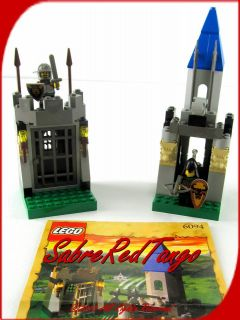 VG Lego System Castle Knights Kingdom Guarded Treasury Set 6094