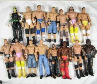 YAC3 WWE Wrestling Mattel Elite Basic Jeff Hardy Zack Ryder Kofi