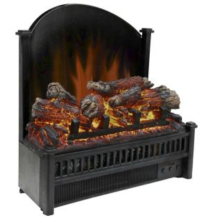 Electric Log Set with Heater Insert LED Technology Energy Efficient