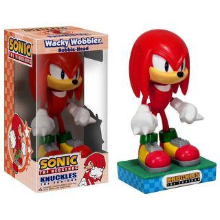 Sonic Hedge Hog Knuckles Wacky Wobbler Bobblehead Nodder Funko fo B