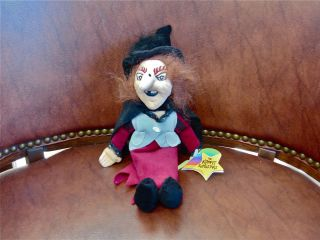 New Witchiepoo Bean Bag Toy w Tags Krofft Superstars Living Toys RARE