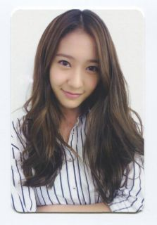 Shock 2nd Mini Album Official PHOTOCARD Krystal Version