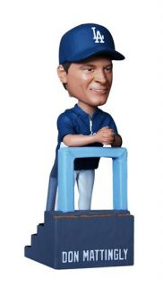 La Dodgers SGA Bobbleheads Mattingly Kuo Kershaw New