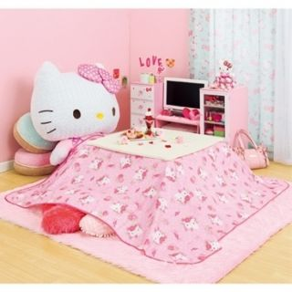 Hello Kitty KOTATSU Topping Square Seat Table Cover Christmas Gift