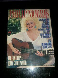 Morris Magazine 1987 Dolly Parton Dollywood Martin Mull Charles Kuralt