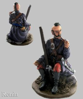 Metal Figurine Soldier Ukriainian Kozak 17 Century 54mm KZ 1 1