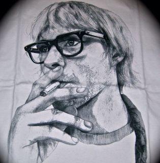 Kurt Cobain Nirvana Shirt Hysteric Chrome Tee Glamour Hearts L