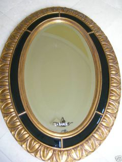 Maitland Smith Labarge Carved Antique Gold Wall Mirror
